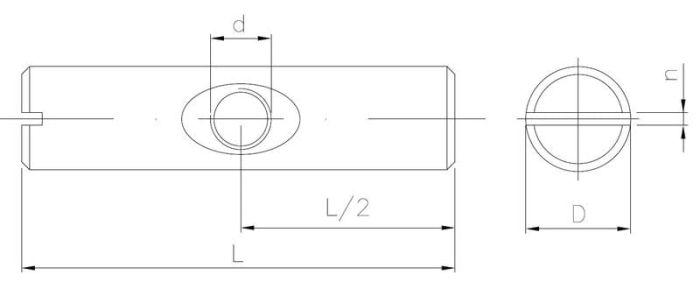 Nakrętka wałeczkowa symetryczna