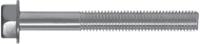 Śruba z łbem 6-kątnym z podkładką z gwintem na części