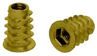 Mufa wkręcana z wgłębieniem imbusowym, z kołnierzem i stożkowym gwintem zewnętrznym