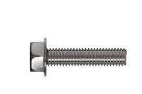 Śruba samoformująca z łbem 6-kątnym z podkładką