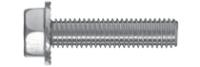 Śruba samoformująca z łbem 6-kątnym z podkładką z zabezpieczeniem