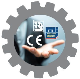 Fasteners with the CE and B marks