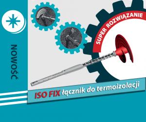 Łącznik do termoizolacji ISO FIX